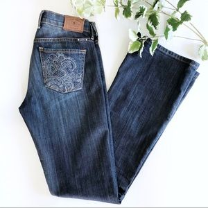 Lucky Brand Jeans Sweet N' Low Boot Cut Dark 0/25